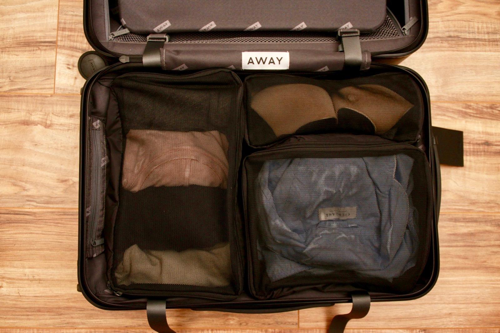 Pack Smart Not Hard A Review Of Away S Ng Cubes Wayward