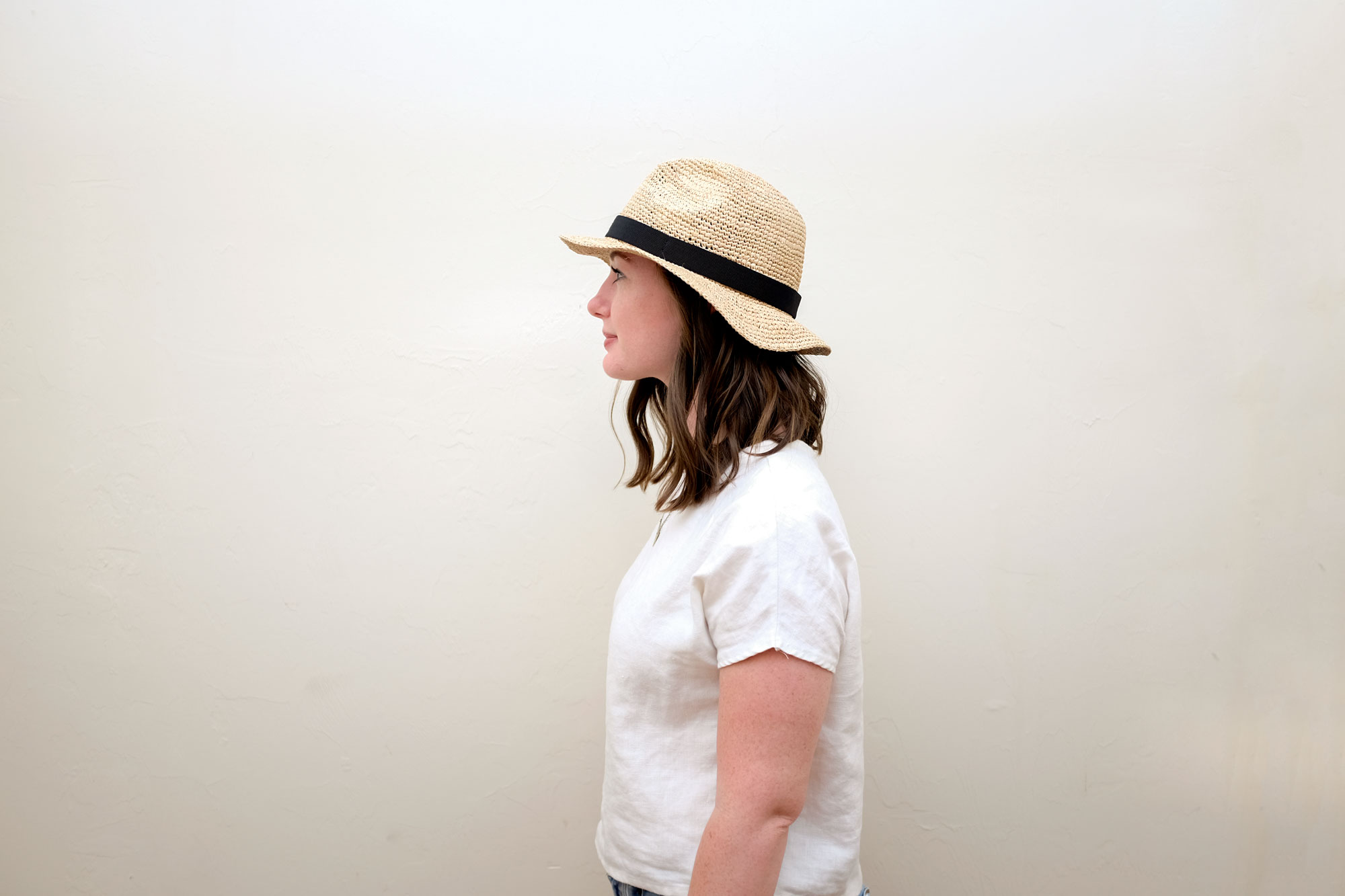 b3102b044472 Home Try-On: Three Packable Straw Hats Under $100 | wayward